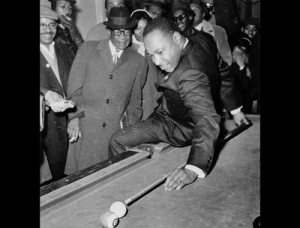 MLK jr. trick shot!